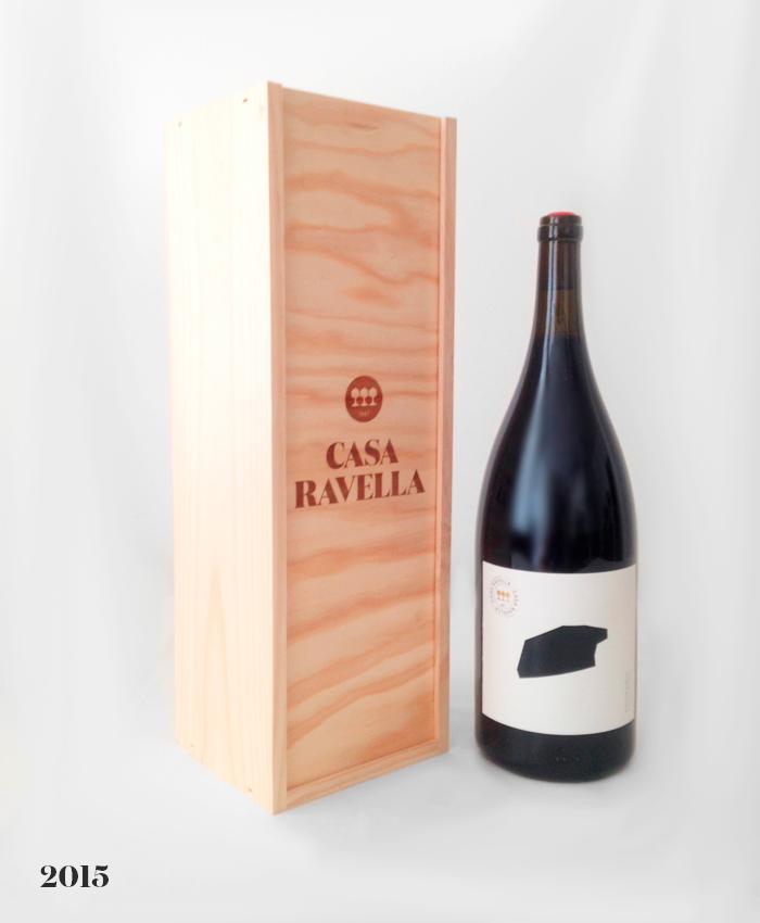 Vino tinto magnum Casa Ravella